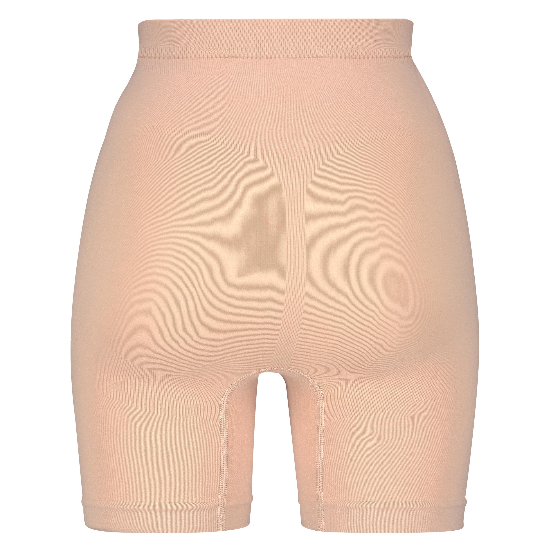 Opstrammende højtaljede shorts - Level 2, Beige, main