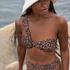 Polstret bikinitop Animal HKM x NA-KD, Brown