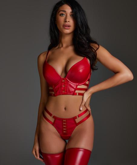 G-streng Vicky, rød