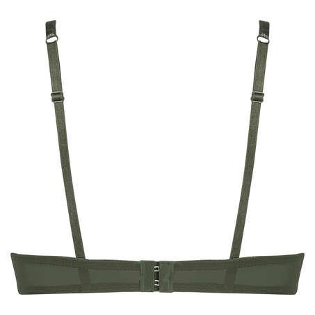 Formstøbt push-up bøjle-bh Yves, grøn