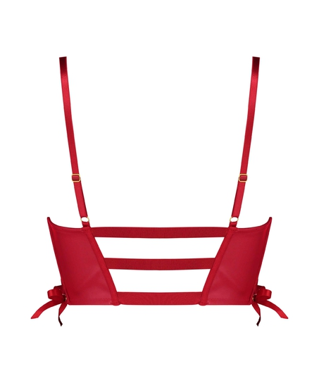 Formstøbt push-up bøjle-bh Manu, rød