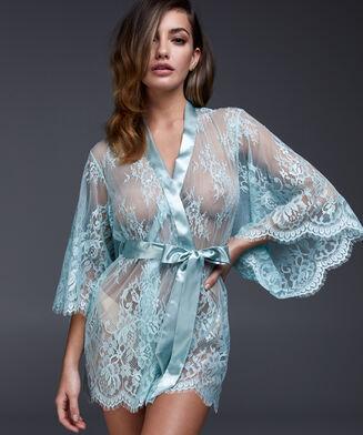 Lace Isabelle kimono, blå