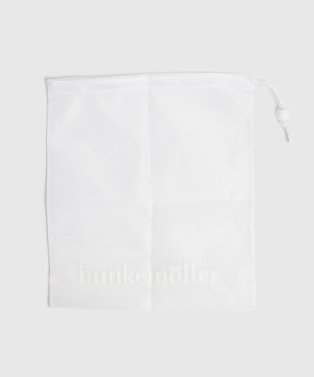 Vaskepose snor, hvid