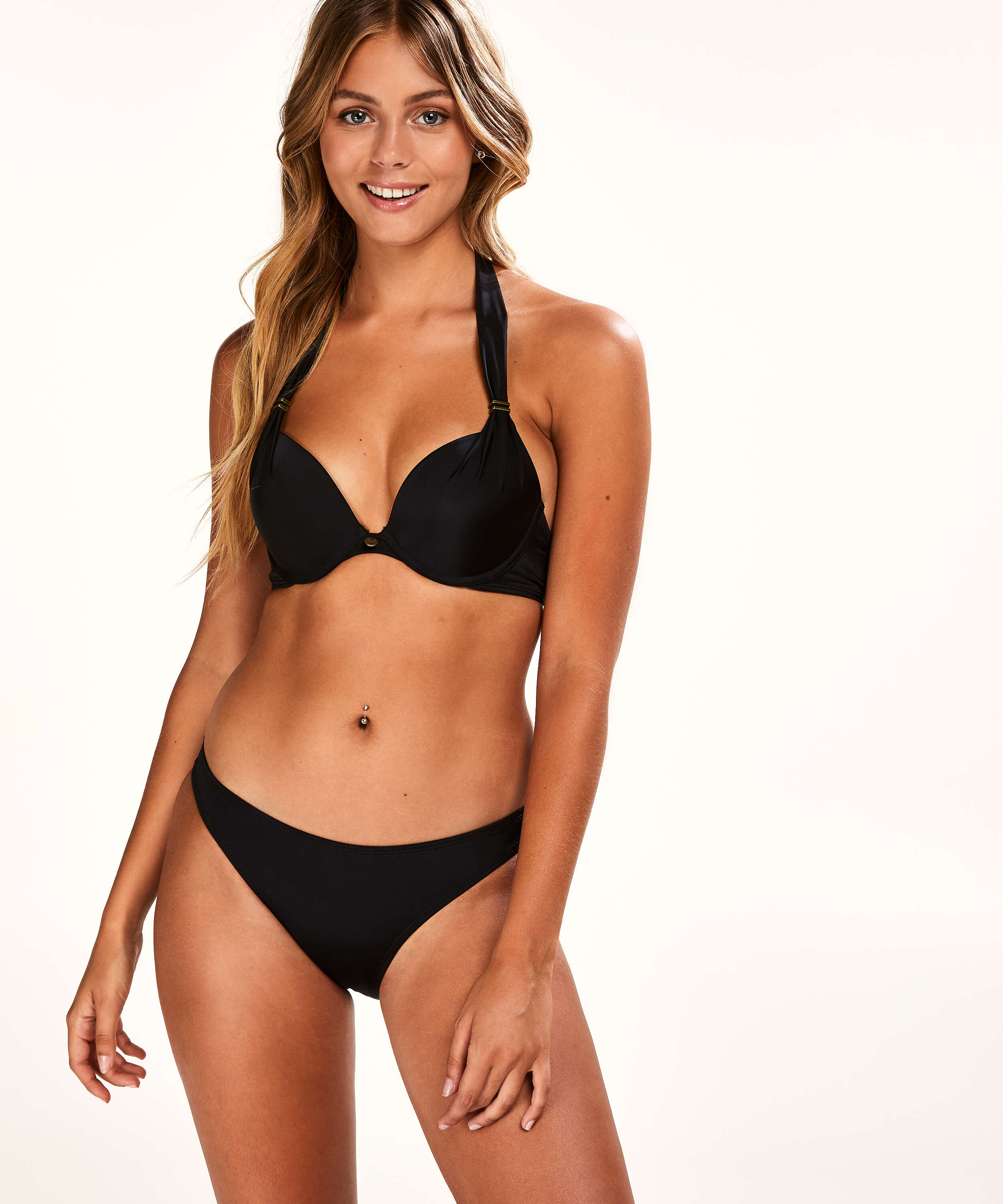 Sunset Dream bikinitrusse, sort, main