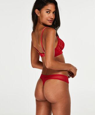 Latrice g-streng, rød