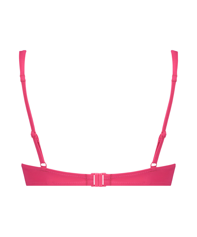 Luxe bikinitop med push-up Størrelse A - E, pink, main