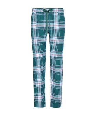 Twill ternede pyjamasbukser, blå