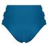 Sunset Dream bikinitrusse med høj talje, blå
