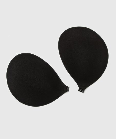 Selvklæbende bh, sort