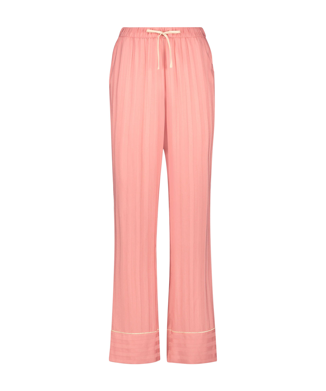 Pyjamasbukser Woven, pink, main