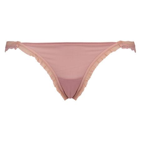 Ultra lav brasiliansk trusse, pink
