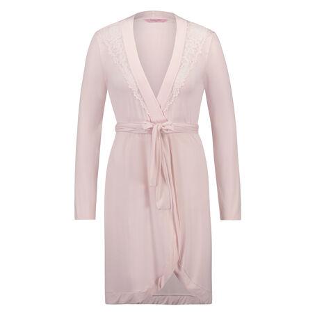 Modal Lace badekåbe, pink