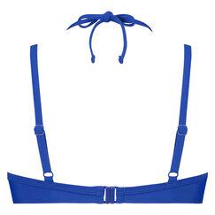 Amanda Queen formstøbt bøjle-bikinitop, blå
