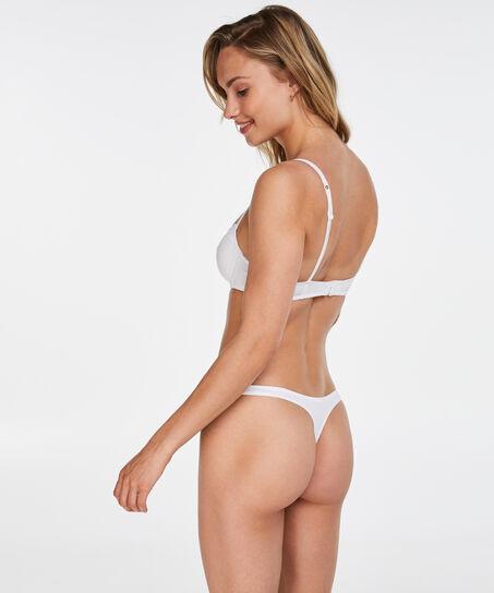 Secret Lace formstøbt bøjle-bh, hvid