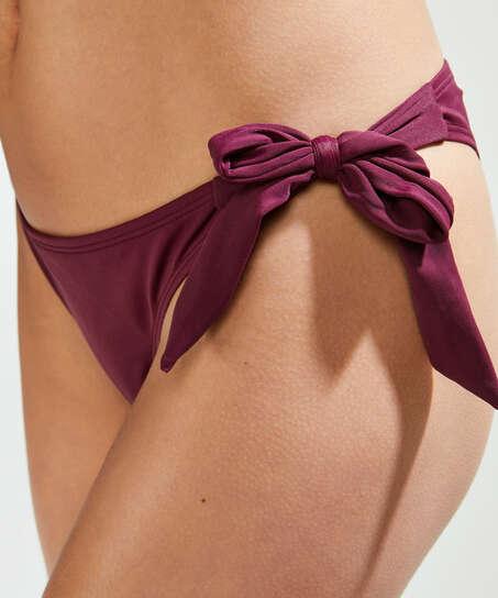 Frække lavtaljede Borneo bikinitrusser, lilla