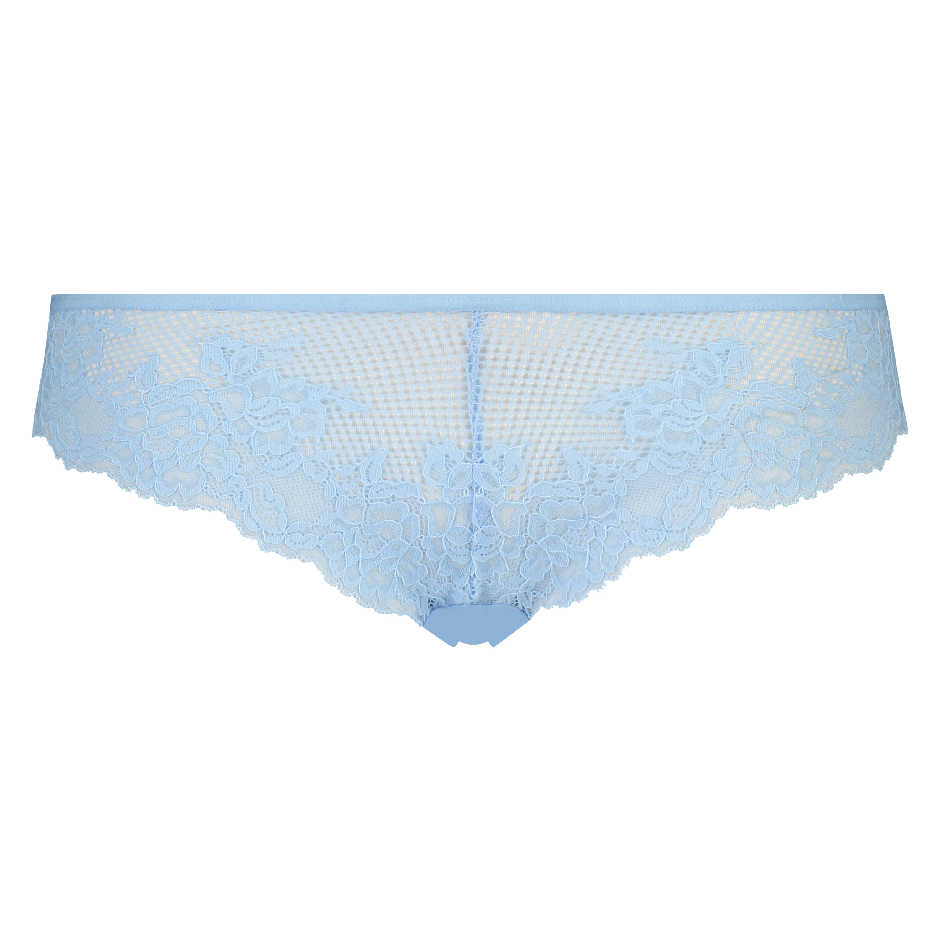 Invisible Lace Front g-streng, blå, main