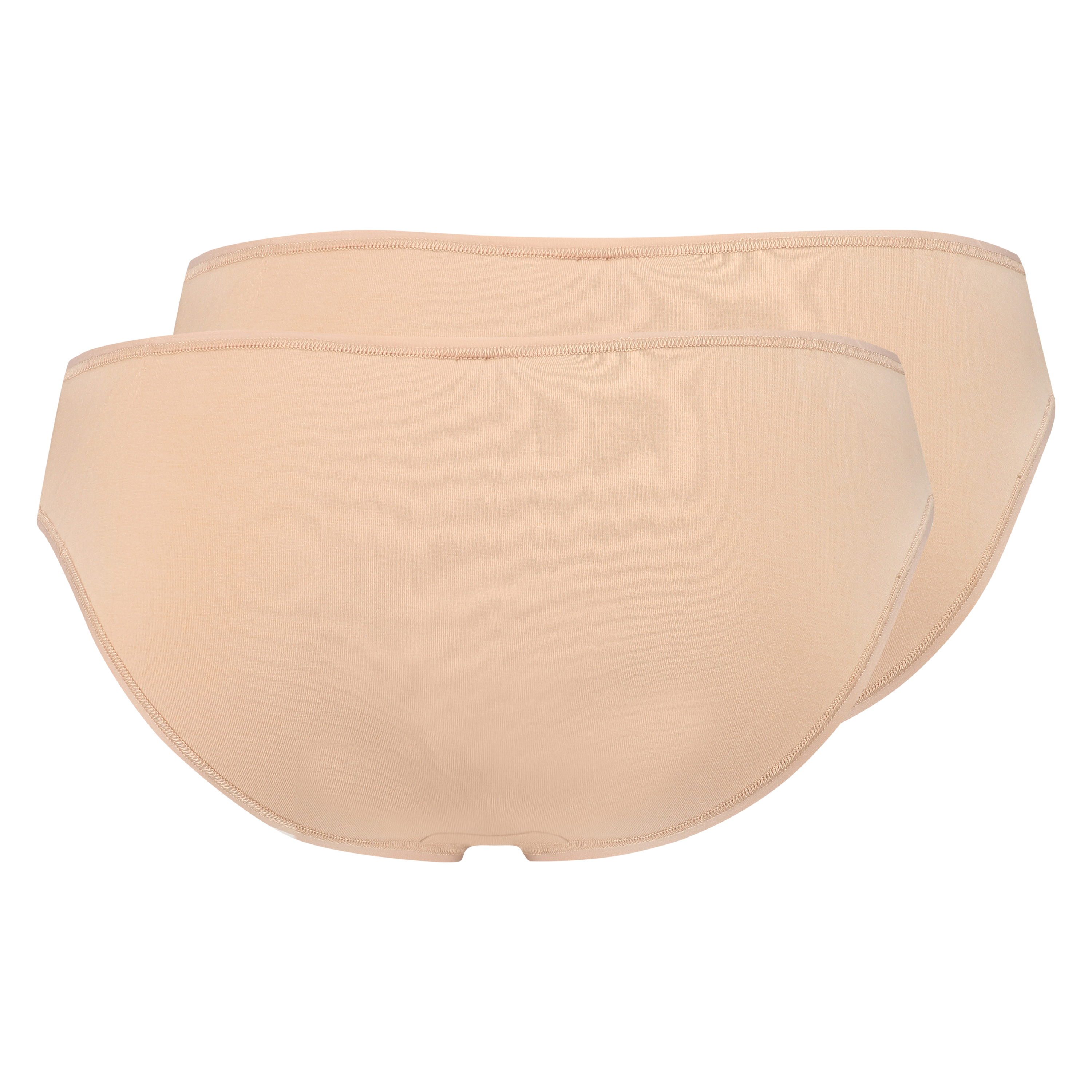 Pakke med 2 stk. Kim trusser Cotton, tan, main